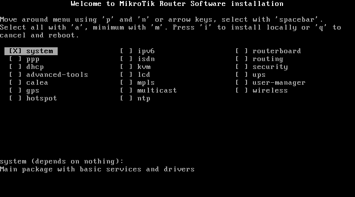 Mikrotik Router OS install and basic configuration | Index Of Apps