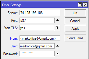 Send Dynamic IP Address to email – Mikrotik script | Index Of Apps