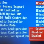 msi enable device in bios