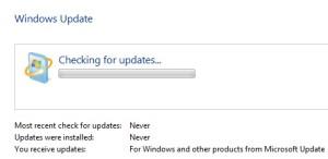 windows 7 update stuck