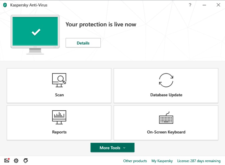 Kaspersky- AntiVirus, Internet security