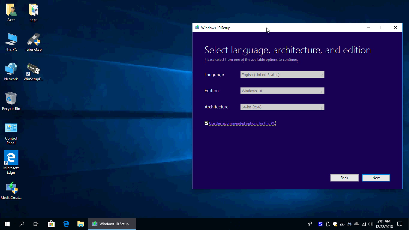 windows 10 english usb download
