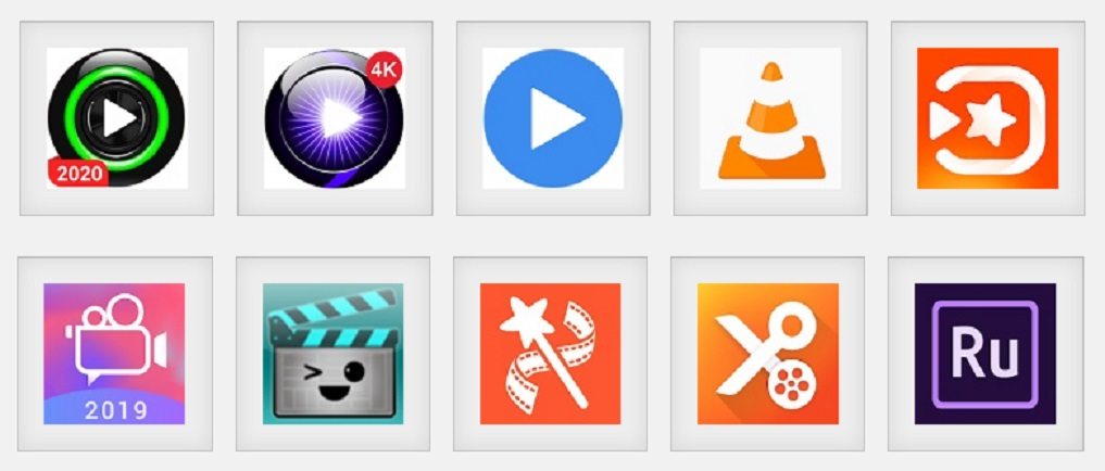 Android video players and video editors