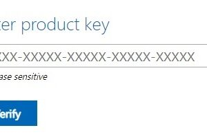 Enter product key to download Windows 7