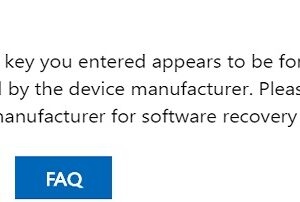 Error! Oem product key in Windows 7 download page.